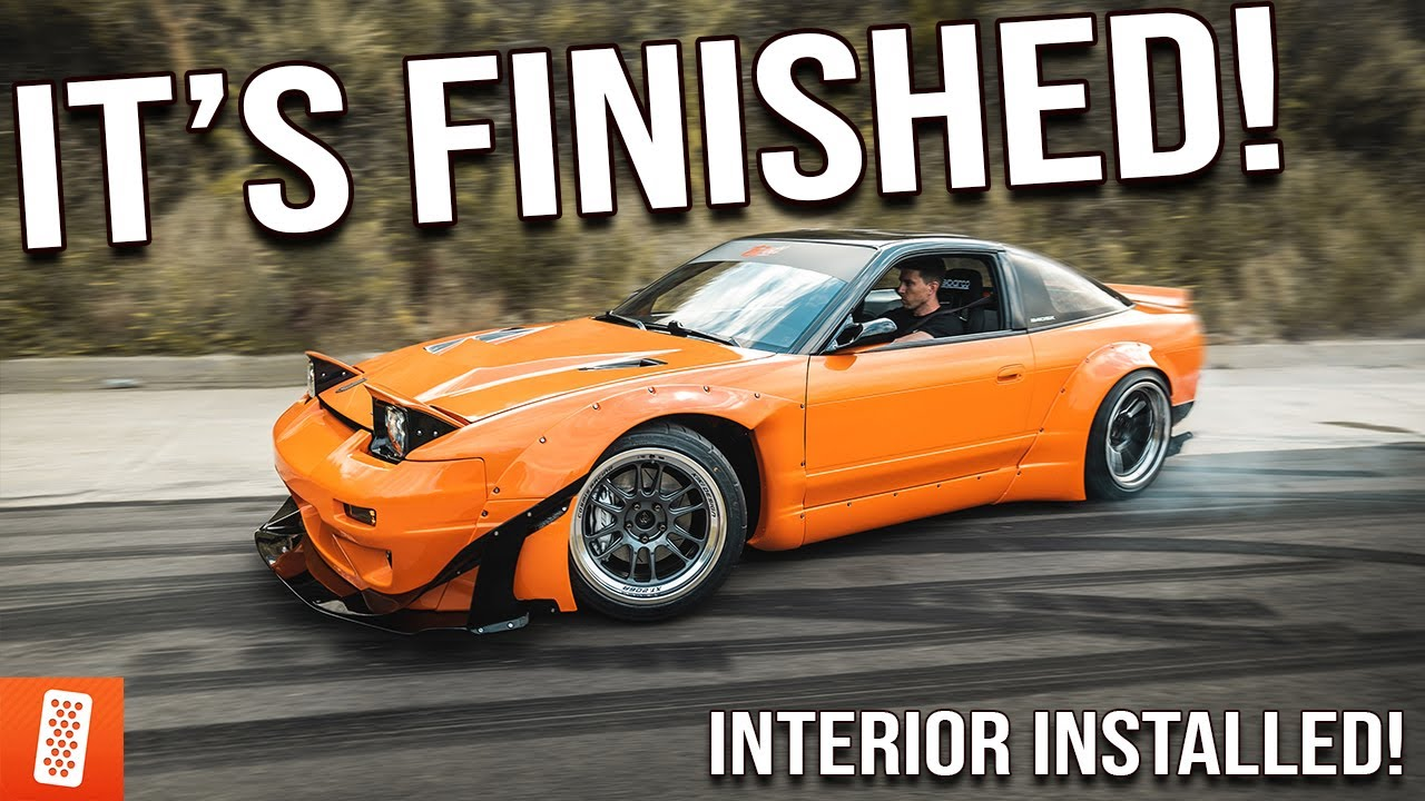 Rebuilding (And Heavily Modifying) A 1989 Nissan 240SX Hatchback - (Part 10)