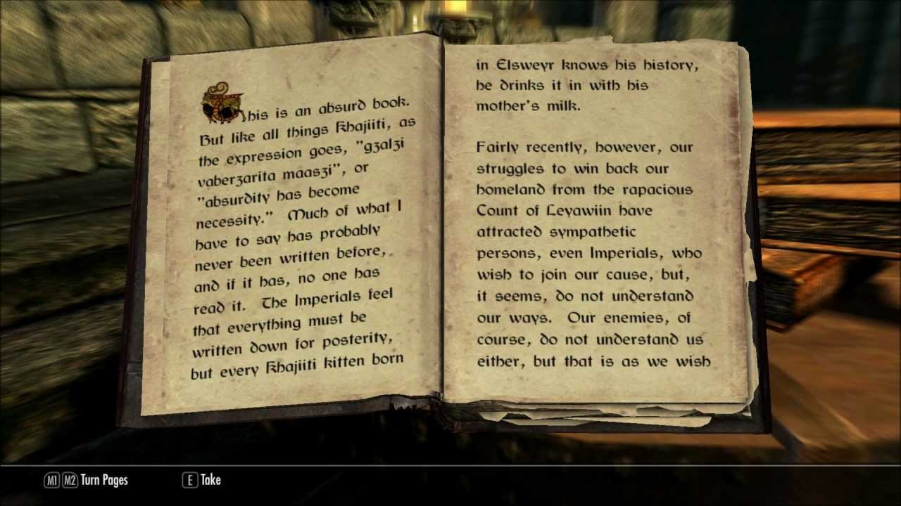 skill diary oblivion