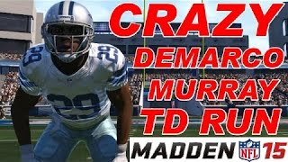 Madden 15 Ultimate Team - Murray Stop And Go Run - PS4