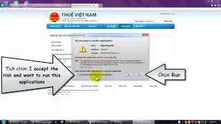 Khắc phục lỗi java nộp thuế điện tử