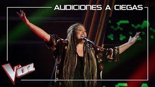 Adriana Rosa Galán canta 'Is this love' | Audiciones a ciegas | La Voz Antena 3 2019