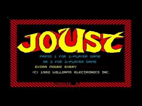 Classic Game Room - JOUST for arcade / PC review