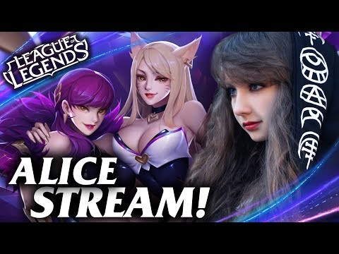 🔥 Играем по фану с Alice 🔥  → League of Legends Stream / Лига Легенд стрим thumbnail