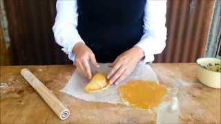Make Your Own Gluten Free Pastry At Home (a Pasty Filled With Leftovers)