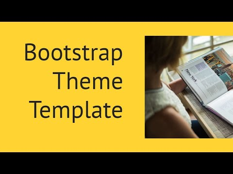 Bootstrap Theme Template Free Html Website Templates