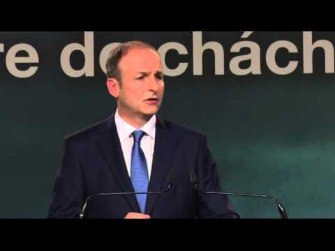 Micheál Martin TD's powerful Ard Fheis speech.