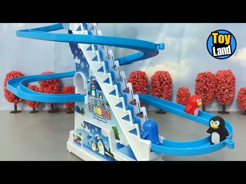 Model Railroad Toy Train Track Plans -Super Penguin track Toys Kids Video Funny Track Set for Kids TOYLAND