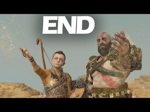 God of War (2018) Part 20 - Finale and Secret Ending - Gameplay Walkthrough PS4 Pro 4K
