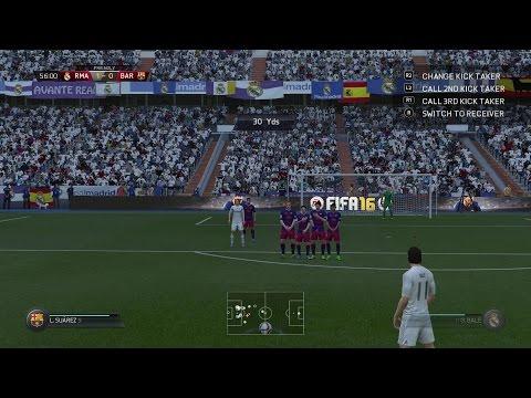 Gareth Bale Best Free KICK GOAL (FIFA 16)