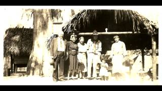 TAMIAMI TRAIL -  CHESNUT BILLY INDIAN CAMP 1940