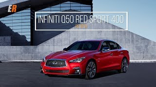 2018 Infiniti Q50 Review - Red Sport 400