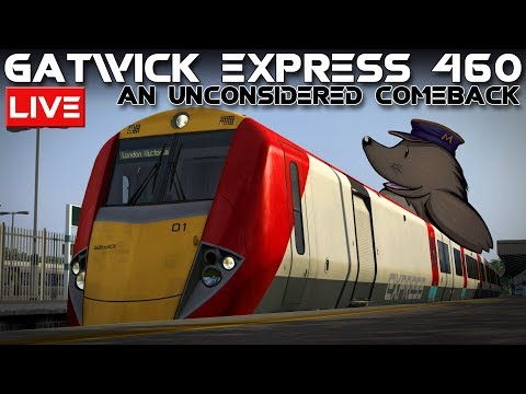 An Unconsidered Comeback | Gatwick Express Class 460