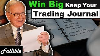 You NEED A Trading Journal To Be Profitable