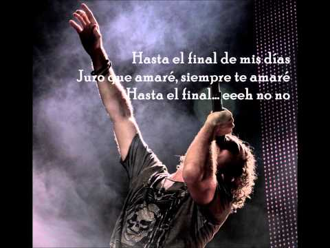 David Bisbal - Hasta el final (con letra) Videos De Viajes