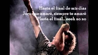 David Bisbal - Hasta el final (con letra)