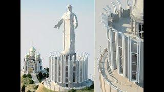 Статуя Христа во Владивостоке