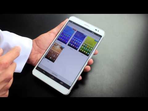 مراجعة الحاسب اللوحي Huawei mediapad X1 7.0