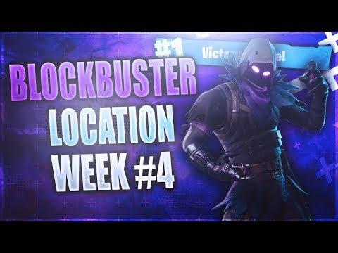 Week 4 FREE Battle Star LOCATION! *FREE* Battle Pass Tier (Fortnite Blockbuster Challenge Week 4)