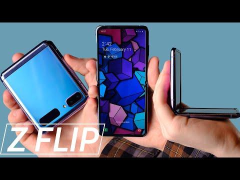 Samsung Galaxy Z Flip hands on impressions!