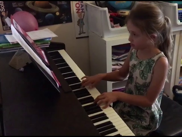 "Molly (8) performing ""Castles"""