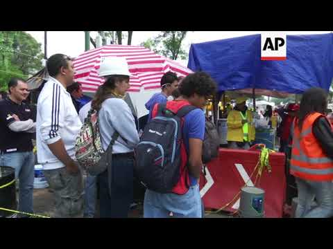 Rescue and aid continues after Mexico quake