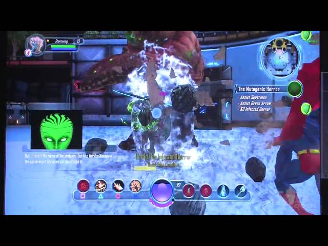 E3 2009: DC Universe Online - Infected Horror