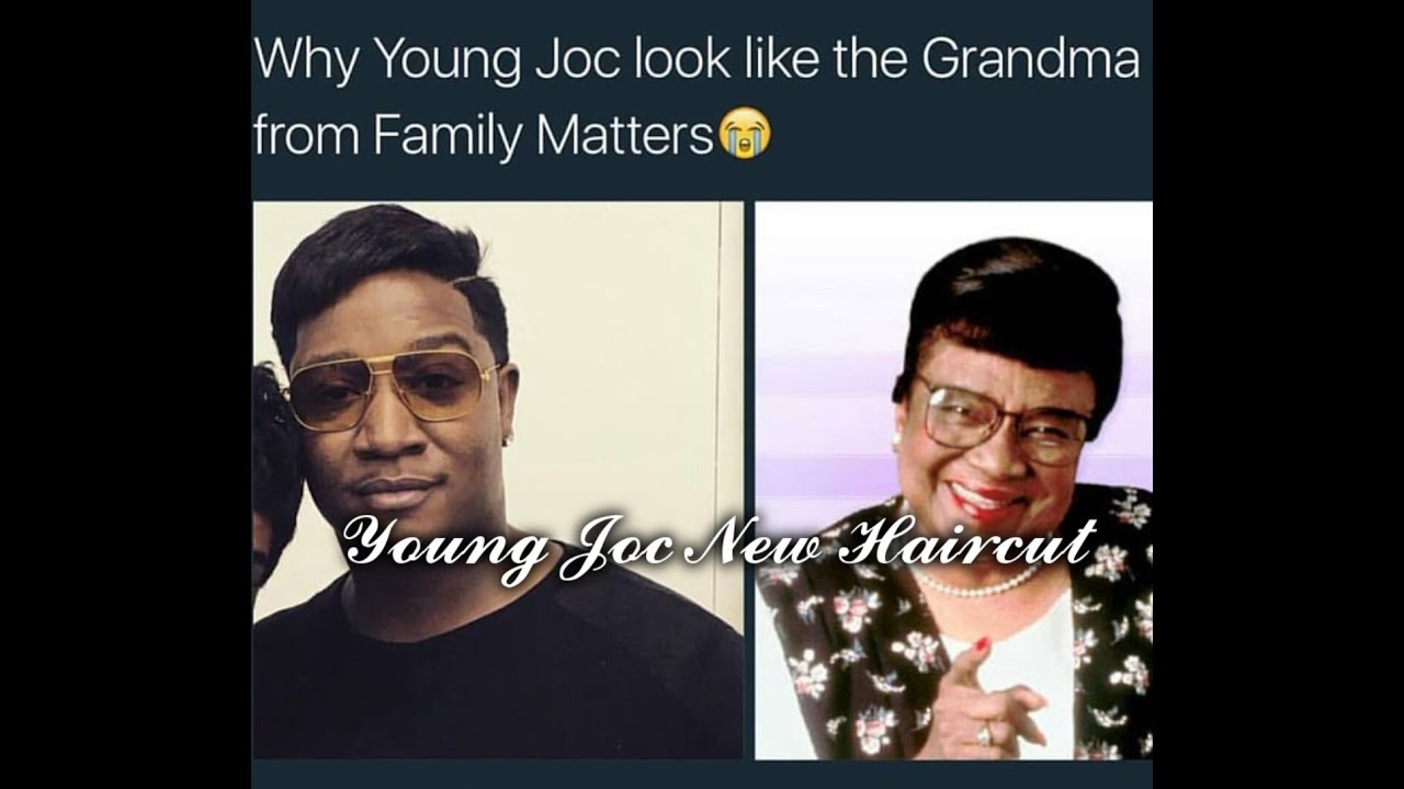 Young Joc New Haircut Twitter Roast  YouTube