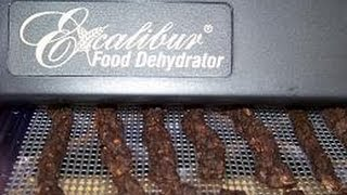 How To Make Beef Or Deer Jerky Using A Excalibur Food Dehydrator