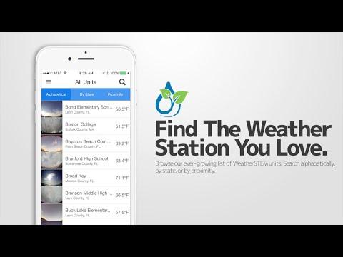 WeatherSTEM App Promo Video