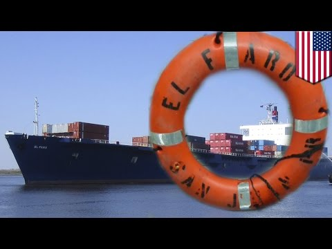 El Faro: Life ring, debris spotted near last known location of missing cargo ship - TomoNews