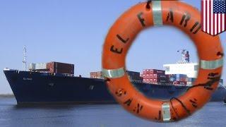 El Faro: Life ring, debris spotted near last known location of missing cargo ship - TomoNews