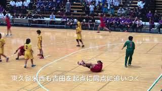 2018 関東中学校ハンドボール大会 女子決勝  三郷北 vs 東久留米西