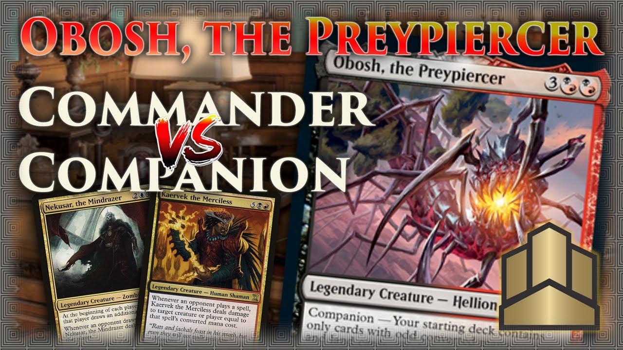 the PreypiercerNM//MIkoria Obosh Lair of BehemothsMagic MTG