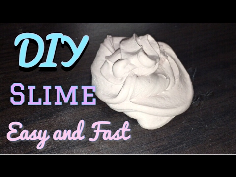 Diy slime easy and fast how to make slime youtube easy and fast how to make slime ccuart Image collections