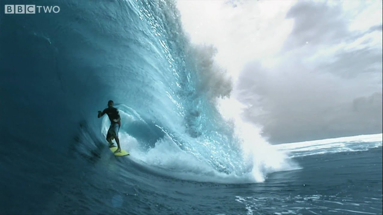Surfer Girl Wallpaper Photos Hd Super Slo Mo Surfer South Pacific Bbc Two Youtube
