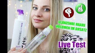 Paul Mitchell HAAR PRODUKTE LIVE TEST VOLUMEN & GLANZ | BiYou