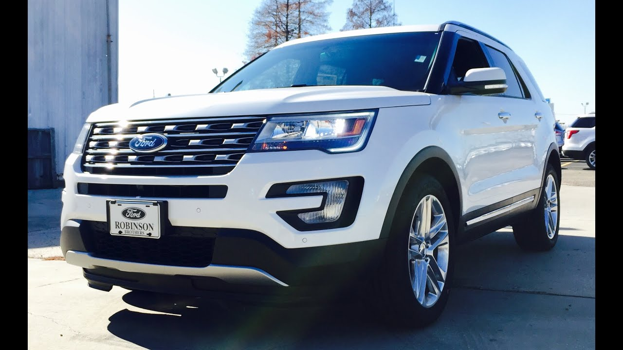 2016 ford explorer limited full review start up exhaust. Cars Review. Best American Auto & Cars Review