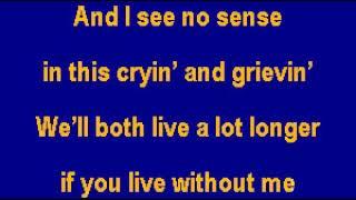 Linda Ronstadt Different Drum CT Karaoke