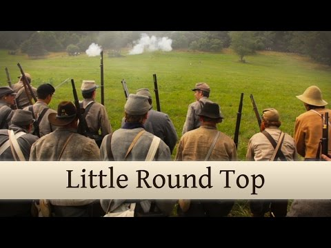 Little Round Top - Battle of Gettysburg Reenactment