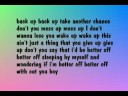 The Little Things - Colbie Caillat (lyrics)