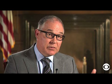 EPA Administrator Scott Pruitt on the partnership between industry and environment