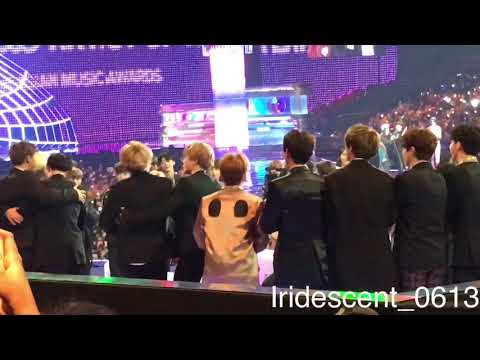 171201 MAMA Artist of the year_BTS