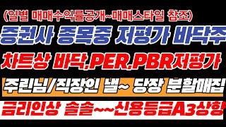 NH투자증권 종목리뷰(증권사별 분석했으나 동사 국내신용…
