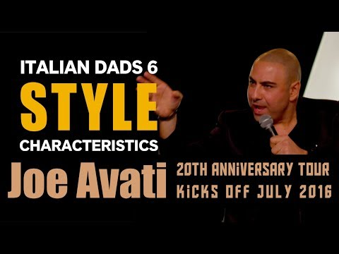 Italian Dad Characteristics | Joe Avati: 20th Anniversary Special (DVD)