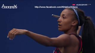 Nafissatou Thiam javelin 57.91m Berlin European Championships 2018 CB
