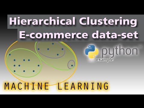 Machine Learning With Python And Sklearn - Hierarchical Clustering (E-commerce Dataset Example)