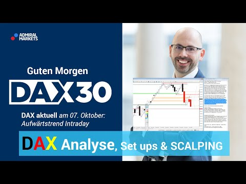 DAX aktuell: Analyse, Trading-Ideen & Scalping | DAX 30 | CFD Trading | DAX Analyse | 07.10.19