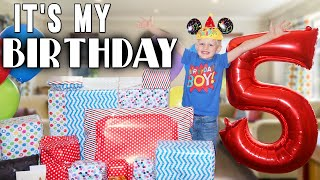 michaels-5th-birthday-party-and-a-huge-surprise-gift