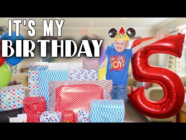 Michaels 5th Birthday Party and a HUGE Surprise Gift!!