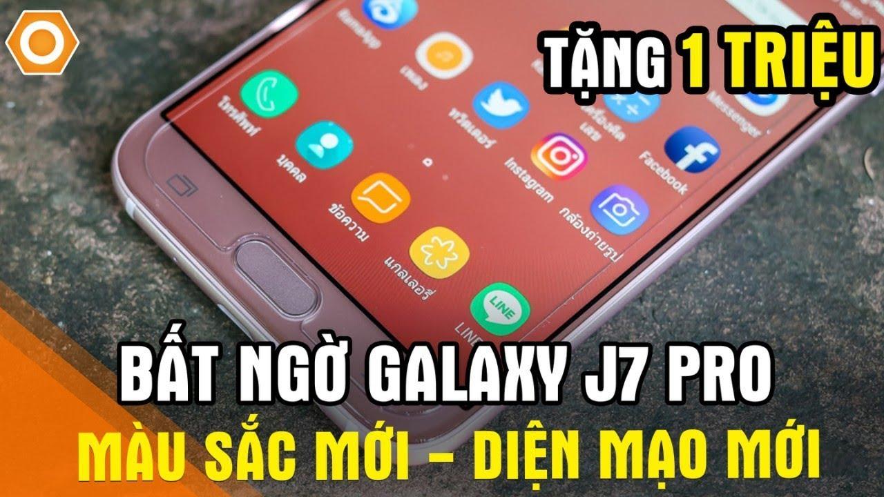 Bất ngờ Galaxy J7 Pro giảm tới 1 triệu – Màu mới, diện mạo mới